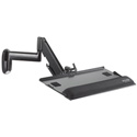 Chief KWK110B KWK Height Adjustable Keyboard and Mouse Tray Wall Mount - Black