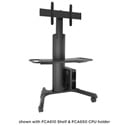 Chief LPAUB Large FUSION Manual Height Adjustable Mobile Cart