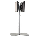 Chief MF2UB Universal Dual Display Floor Stand (30-55 Inch Displays)