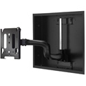 Chief MWRIW6000B Medium Low-Profile In-Wall Swing Arm Mount - 22 Inch (without interface)