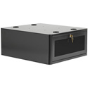 Chief PAC735B Secure Storage Cabinet for AV Carts