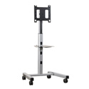 Chief PFC-U Universal Flat Panel Display Mobile Cart 42-63In.es Silver
