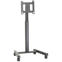 Chief PFC2000B Large Flat Panel Mobile Cart without Interface