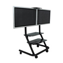 Chief PPD2000 Dual Display Video Conferencing Cart