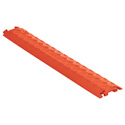 Checkers FL1X1.5-O FastLane 1 Channel Drop Over Cable Protector - Orange