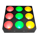 Chauvet CORE3X3  Compact Tri-Color LED Strip Light for Pixel-Mapping Effects