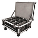 Chauvet Freedom Charge 9 Road Case - Easily Transports up to 9 Freedom Par Fixtures