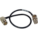 Laird Premium Single-Channel 6G-2k HD-SDI Viewfinder Cable with Right Angle BNCs