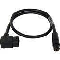 Laird Viewfinder Power Cable w/Right Angle D-Tap for AJA CION Camera & Cineroid