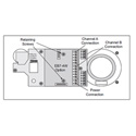 Clear-Com EB7-4W Headset Module 4 Wire