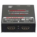 Calrad 40-1063-HS-2 HDMI 1 x 2 Ultra HD 4K Splitter