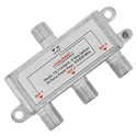 Calrad 75-713-HG-3 Digital Coaxial RF Splitter 5-2400MHz with All Port Power Pass - 3-Way