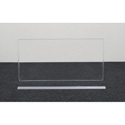 Clearsonic AX2412x1 24 Inch Wide x 12 Inch High 1-Section Add-On Height Extender with H-Channel