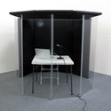 Clearsonic IsoPac I - Voiceover/Translation Booth - Dark Gray