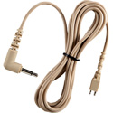 Telex CMT-92 Straight cord with mini right angle phone plug 3.5mm  (Beige)