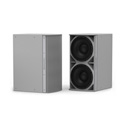 Community IS8-212W High Power Dual 12 Inch Subwoofer White