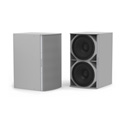 Community IS8-218W High Power Dual 18 Inch Subwoofer White