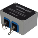 Camplex CMX-NEMA2 OpticalCON DUO NO2-4FDW-A to (2) ST Female Singlemode Breakout