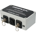 Camplex OM3 Multimode NO4FDW-A OpticalCon QUAD to (4) ST Female Breakout
