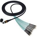 Camplex CMX-OCMTPMMST10 MTP/ST 0M3 Multimode 50/12 Fiber Micro Dist Pln OM3 - 10 Foot