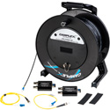 Camplex CMX-TACNGO-C3G 3G-SDI to Fiber Optic Converter Extender & Tactical Cable Reel System - 1000 Foot