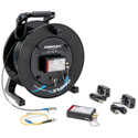 Camplex Tac-N-Go 3G SDI Fiber Optic Converter / Extender & 1000 Foot Tactical Fiber Cable Reel