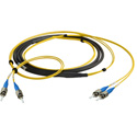 Camplex CMX-TS02ST-0010 2-Channel ST Singlemode Fiber Optic Tactical Snake 10 Foot