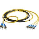 Camplex CMX-TS04ST-0100 4-Channel ST Singlemode Fiber Optic Tactical Snake 100 Foot