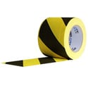 Pro Tapes 6-Inch x 30 Yard Yellow/Black Safety Stripe Cable Path Tape