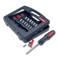 39 Piece Dura-Driver Mechanics Ratcheting Screwdriver Kit