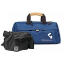 Blue Porta Brace CS-DV3U Mini-DV Camera Case with QSM4 Quick Slick