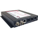 Artel FiberLink 3394-B7S Bidirectional 3G-HD/Audio/Ethernet/Data Singlemode 1 Fiber Box with ST Connectors - Transceiver