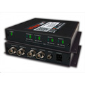 Artel FiberLink 3518-B9S Singlemode 4-CH Bidirectional 3G-HD with 4K/UHD-30 Support - Box with ST Connectors - Transmit