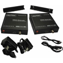 Cabletronix CT-HDVD-EXT-RG-IR195 HD Over a Single Coaxial Cable Extender Kit