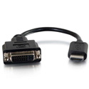 C2G 41352 HDMI Male to Single Link DVI-D Female Adapter