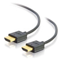 Cables to Go C2G 41364 Ultra Flexible High Speed HDMI Cable with Low Profile Connectors - 6 Foot