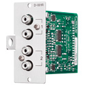 TOA D-001R Line Input Module with DSP Stereo Summing Dual RCA Jacks RCA Jacks