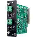 TOA D-922E Input Module-Two Mic/Line Inputs with Phoenix-Type Connectors