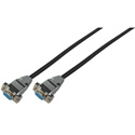 15-Pin Hi-Density Male to Female VGA Cable 25 Foot