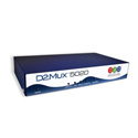 D2D Technologies 5420 Add 4 IP Streams In/1 IP Stream Out on GIGE for D2Mux 5020 Series Multiplexer
