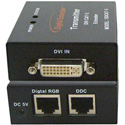Digital Extender DDCAT-X DVI Over CAT-5/6 Extender