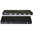 Digital Extender DVI 4X1 Switcher With RS232