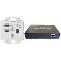 Digital Extender Wallmount VGA/HDMI Over Single CAT Transmitter/RCVR