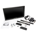 Delvcam DELV-3GHD-17IRM 17.3-Inch Rackmount 3G-SDI LCD Monitor w/ HDMI-SDI Cross Conversion V-Mount Plate - Bstock(Open)