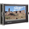 Delvcam DELV-4KSDI28 4K UHD Multi-Format Quad View Broadcast Monitor Mounted in Rugged Carrying Case - 28 inch