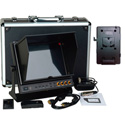 Delvcam  9.7in. SDI Monitor - Dual HDMI Input & 1 HDMI Output & V-Mount Battery