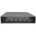 Doug Fleenor Design 125EE-5 4 Output Enhanced Isolated DMX Splitter with 5-Pin XLR Connectors