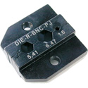 Neutrik DIE-R-BNC-PJ Die for HX-R-BNC Crimp Tool with Hex Crimp Size A (6.47mm) B (5.41mm) CP (1.6mm)