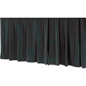 Da-Lite 80568 Black Tripod Skirt for 96 Inch Wide Screens