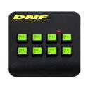 DNF Controls USP3-8-D 8 Button Universal Switch Panel - Desktop